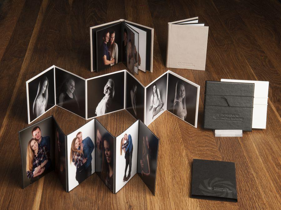 foto's in minialbum